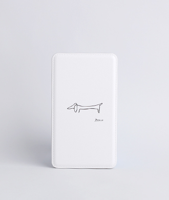 Animal Drawing White (강아지) Battery